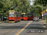 Трамвай стал целью для снайпера