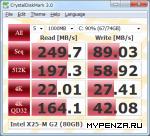 Тестовые приложения: CrystalDiskMark v.3.0.0e