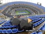 На US Open идут дожди