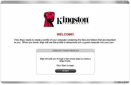 Kingston DataTraveler mini MIGO edition объёмом 1GB - большие возможности маленького драйва